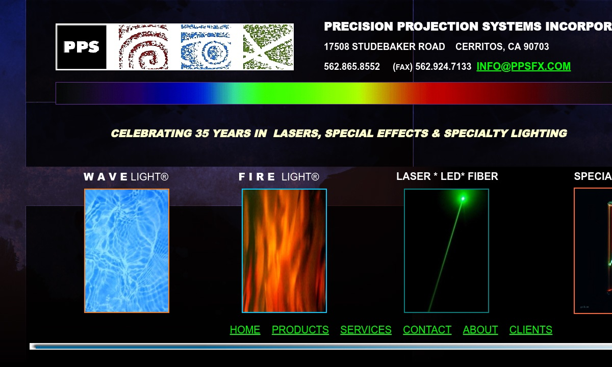 Precision Projection Systems, Inc.