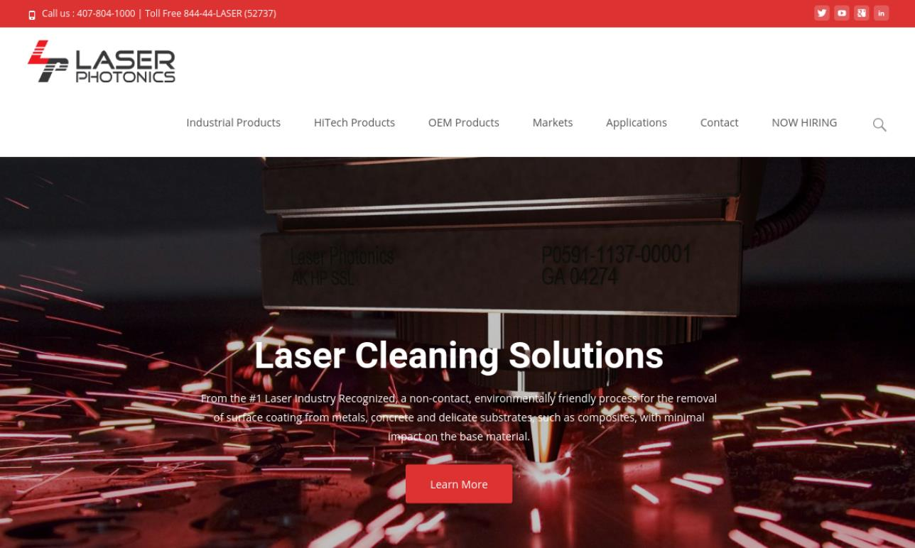 Laser Photonics, LLC